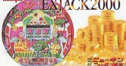Télécarte Japon * Pièce De Monnaie (154) Money * Coin Munten Munzen * Geld * PHONECARD JAPAN * TK * CASINO - Timbres & Monnaies