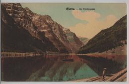 Glarus - Am Klönthalersee - Animee Ruderboot - GL Glaris