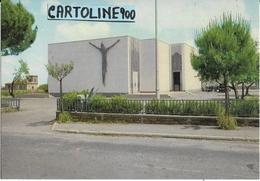 Lazio-roma-ciampino Via Mura Francesi Veduta Chiesa S.giovanni Battista - Italia