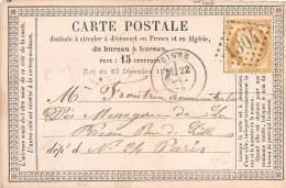THEMES - PRECURSEUR / Format 12 X 8 Cm - Digne - 1874 - Postcards