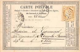 THEMES - PRECURSEUR / Format 12 X 8 Cm - Montmerle - 1873 - Autres