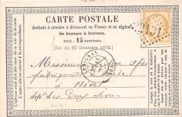 THEMES - PRECURSEUR / Format 12 X 8 Cm - Vienne - Lusignan - 1874 - Postcards