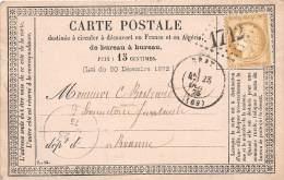 THEMES - PRECURSEUR / Format 12 X 8 Cm - Gray - 1875 - Postcards