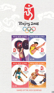Papua New Guinea SG 1239-1242 Beijing Olympics Sheetlet MNH - Papua New Guinea