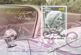 Papua New Guinea SG 1262 MS 2008 Marilyn Monroe Miniature Sheet MNH - Papua New Guinea