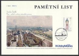 Czech Rep. / Commemorative Sheet (PaL 2008/02) Plzen 1: International Fair HobbyMania 2008 (Pilsner Urquell, Water Tower - Beers
