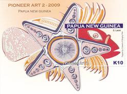Papua New Guinea SG 1309 MS 2009 Pioneer Art Part II Miniature Sheet MNH - Papouasie-Nouvelle-Guinée