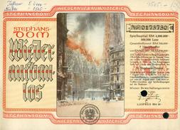 Österreich, Wiederaufbaulos, Lotterie, STEPHANS-DOM, , 1946 ! - Lotterielose