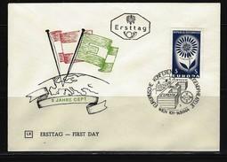 ÖSTERREICH - FDC Mi-Nr. 1173 Europa Stempel WIEN (7) - FDC