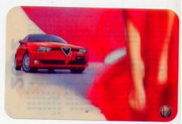 Calendarietto - 2002 - Alfa Romeo - Calendriers