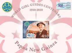 Papua New Guinea SG 1390 MS 2010 Girls Guide Miniature Sheet MNH - Papoea-Nieuw-Guinea