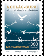 HUNGARY, 2017, MNH, GULAG, PRISONS,  BIRDS, 1v - Snakes