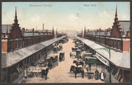 Gansevoort Market, New York City, NY USA, C.1905 - American News Co U/B Postcard - Places & Squares