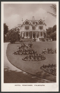 Hotel Pendower, Falmouth, Cornwall, C.1950s - Eversheds RP Postcard - Falmouth