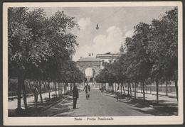 Porta Nazionale, Noto, Siracusa, Sicilia, Italia, 1925 - Francesco Cartolina - Italy
