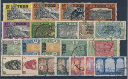 Lot Togo ** Postfrisch / Gestempelt Used - 21 Werte - Togo (1914-1960)