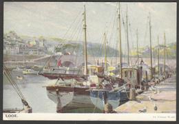 Looe, Cornwall, By Vernon Ward, 1965 - Solomon & Whitehead Postcard - Other