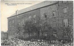 Ciney NA8: Pensionnat Des Soeurs De La Providence. Façade Postérieure 1927 - Ciney