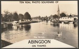 Ten Real Photo Souvenirs Of Abingdon On Thames, Berkshire, C.1950s - Places