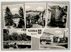 NIDDA   OBERHESSEN    VIEWS        (VIAGGIATA) - Nidderau
