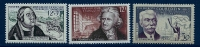 """FR YT 1054 1081 1088 """" Personnalités """" 1956 Neuf** - Unused Stamps"""