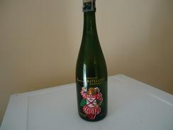 Bouteille Sérigraphiée - De ? - France -¨CHAMPAGNE VICOMTE DE CASTELLANE - Epernay - 75 Cl - Vide - - Champagne & Sparkling Wine