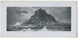 St Michael's Mount, Cornwall, C.1905 - Dainotype Panel Card - St Michael's Mount