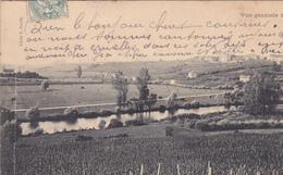 54. XEUILLEY. CPA . CARTE DOUBLE . VUE GÉNÉRALE. ANNÉE 1905 - France