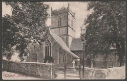 St Laurence's Church, Church Stretton, Shropshire, 1906 - Frith's Postcard - Shropshire
