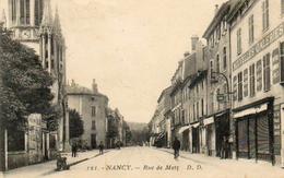CPA - NANCY (54) - Aspect De La Rue De Metz Dans Les Années 20 - Nancy
