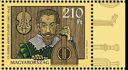 HUNGARY, 2017, MNH, MUSIC, CLAUDIO MONTEVERDI,  1v - Musique