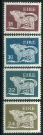 IRLANDE ( POSTE ) : Y&T N°  442/445  TIMBRES  NEUFS  AVEC  TRACE  DE  CHARNIERE , A  VOIR . - 1949-... Republik Irland