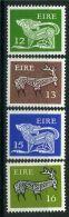 IRLANDE ( POSTE ) : Y&T N°  420/423  TIMBRES  NEUFS  AVEC  TRACE  DE  CHARNIERE , A  VOIR . - 1949-... Republik Irland