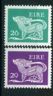 IRLANDE ( POSTE ) : Y&T N°  465/466  TIMBRES  NEUFS  AVEC  TRACE  DE  CHARNIERE , A  VOIR . - 1949-... Republik Irland
