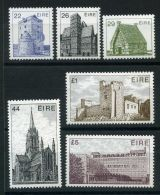 IRLANDE ( POSTE ) : Y&T N°  487/492  TIMBRES  NEUFS  AVEC  TRACE  DE  CHARNIERE , A  VOIR . - 1949-... Republic Of Ireland