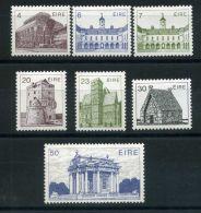 IRLANDE ( POSTE ) : Y&T N°  495/501  TIMBRES  NEUFS  AVEC  TRACE  DE  CHARNIERE , A  VOIR . - 1949-... Republic Of Ireland