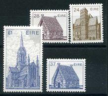 IRLANDE ( POSTE ) : Y&T N°  571/574  TIMBRES  NEUFS  AVEC  TRACE  DE  CHARNIERE , A  VOIR . - 1949-... Republic Of Ireland