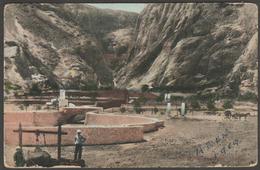 The Tanks And Camp At Aden, Yemen, C.1910 - Postcard - Yemen