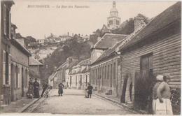 CPA 80 MONTDIDIER La Rue Des Tanneries Animation 1914 - Montdidier