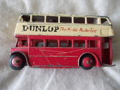 Dinky Toys 290 Bus Londonien Made In England Meccano LTD Dunlop - Dinky