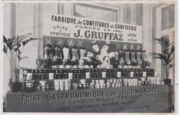 76  Le Havre  Foire Gastronomique De Normandie Fabrique De Confitures Usine A  Epouville 1925 - Le Havre