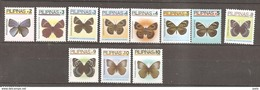 PHILIPPINES 2006 BUTTERFLIES SELECTION TO P10 MNH - Butterflies