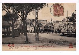 Tonkin. Hanoï. Entrée De La Rue De La Soie. Avec Pousse Pousses. (1667) - Viêt-Nam