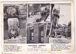 ROMA TRATTORIA - PIZZERIA GIOIA MIA - VIA DEGLI AVIGNONESI ,34-35  (RM) - Mostre, Esposizioni