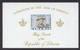 Scouting  Liberia Imperf Non Denteles # 19951 - Scouting