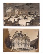 Luchon. Bagneres De Luchon. Saint-Mamet.Villa Luisa. Pyrenées Palace Hotel.vue Exterieure Et Salle De Restaurant. - Luchon