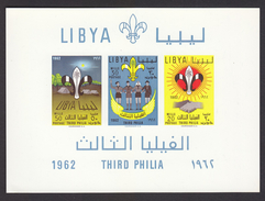 Scouting  1962 Libya Imperf Non Denteles # 19953 S - Scouting