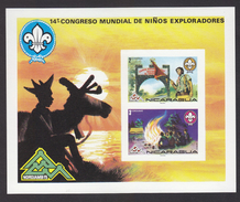 Scouting  1975 Nicaragua Imperf Non Deleteles # 19954 - Scouting