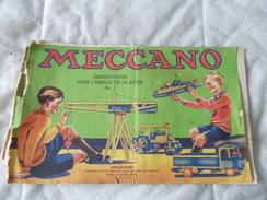 Meccano Instructions Pour L'emploi De La Boite N° 1 Version En Mauvais état - Meccano