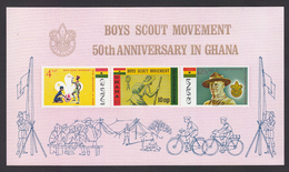 Scouting  Ghana Imperf Bycycle # 19950 - Scouting